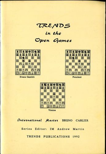 Carlier Trends in The Open Games