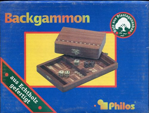 Reise Backgammon Holz 16