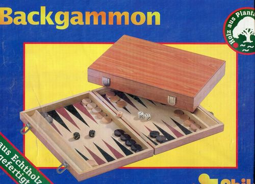 Holz Backgammon 1180